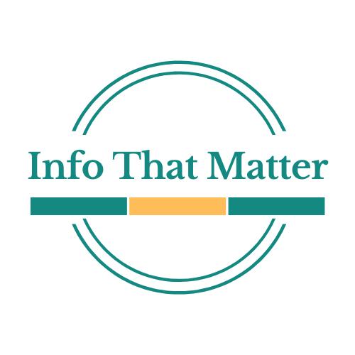 Info that Matter